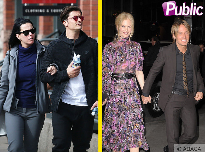 Katy Perry et Orlando Bloom ou Nicole Kidman et Keith Urban : qui forme le couple le plus glamour ?