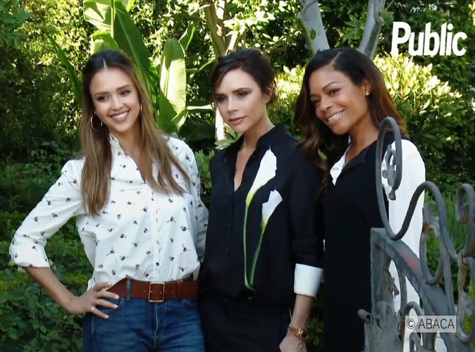 Jessica Alba, Noamie Harris, Zoe Saldana ... Toutes à la garden party de Victoria Beckham !