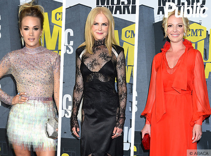 Nicole Kidman, Katherine Heigl, Rachel Bilson ... Les plus belles robes des CMT Music Awards 2017 !