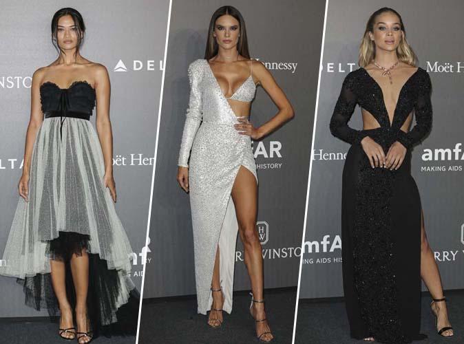Fashion Week de Milan : Shanina Shaik, Alessandra Ambrosio, Jasmine Sanders... Tous les plus beaux looks du gala de amfAR