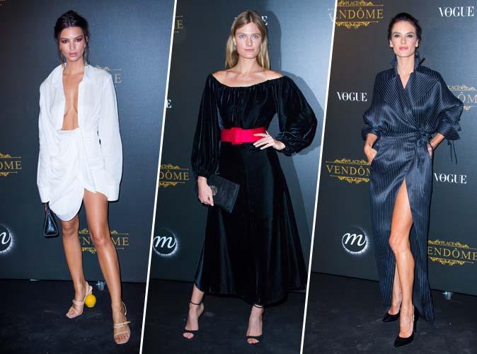Emily Ratajkowski, Constance Jablonski, Alessandra Ambrosio... toutes en Vogue à Paris !