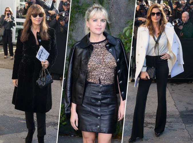 Monica Bellucci, Cécile Cassel, Cindy Crawford... Karl Lagerfeld les met au premier rang du défilé Chanel !