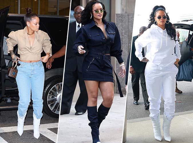 Rihanna : Nouveau marathon fashion à New York !